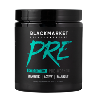 Black Market Labs PRE, 30 Servings