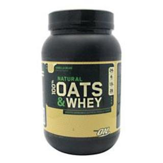 Optimum Nutrition 100% Natural Oats and Whey, 3 Pounds